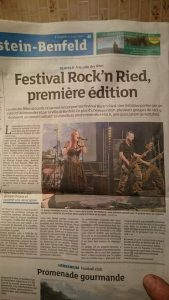 Article Rock 'n' Ried 16/04/16