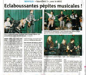 Article Sound'feld 13/04/13