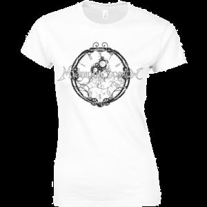 Midnight Sorrow tshirt femme Blanc
