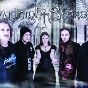 Midnight Sorrow photo shoot band